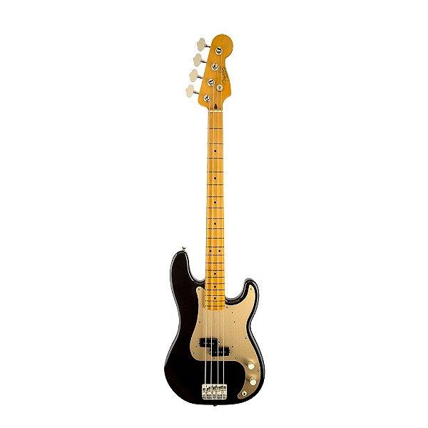 Contrabaixo 4C Passivo Fender 50 S Precision Bass Lacquer BLK