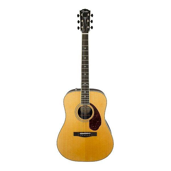 Violão Folk Fender PM 1 Paramount Deluxe Natural