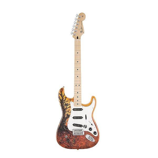 Guitarra Strato Fender Standard David Lozeau Art TOF