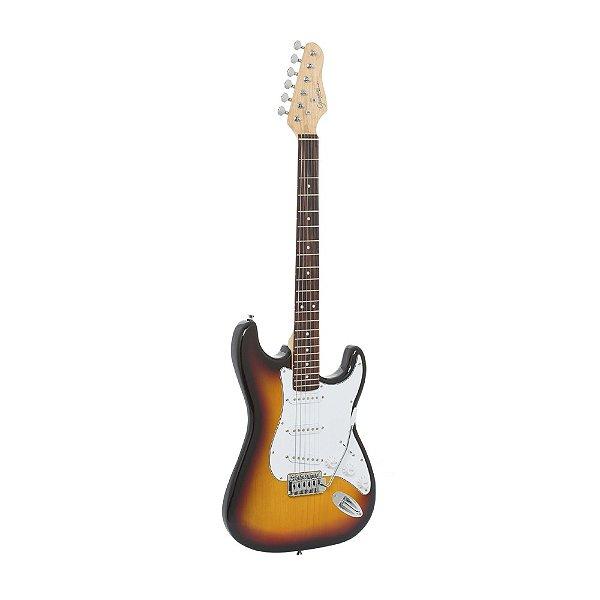 Guitarra Strato Giannini G 100 3TS/WH