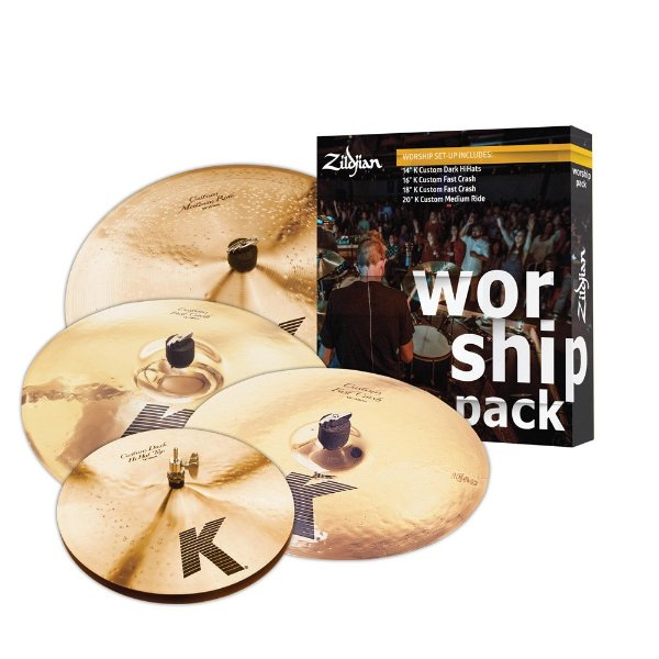 Set Pratos Zildjian WORSHIP Pack K Custom - 14/16/18/20""