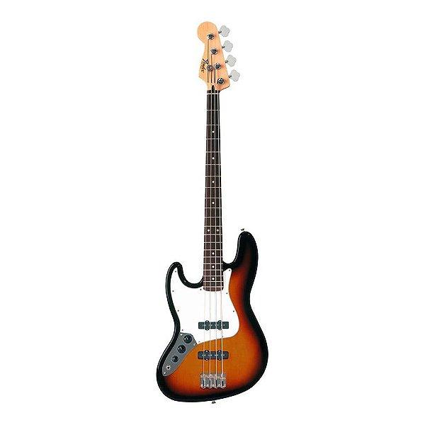 Contrabaixo 4C Canhoto Passivo Fender Standard Jazz Bass LH