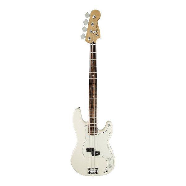 Contrabaixo 4C Passivo Fender Standard Precision Bass Arctic White PF