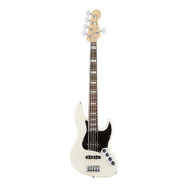 Contrabaixo 5C Ativo Fender American Elite Jazz Bass V