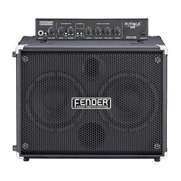 Cabeçote + Caixa Contrabaixo Fender Rumble 150W 2x8