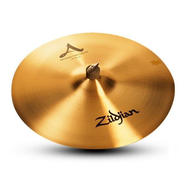 "Prato Ataque 19"" Zildjian A Series Medium Thin Crash"