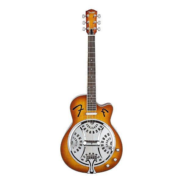 Violão Dobro Fender FR 50 CE