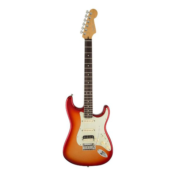 Guitarra Fender Am Deluxe Stratocaster Shawbucker HSS RW