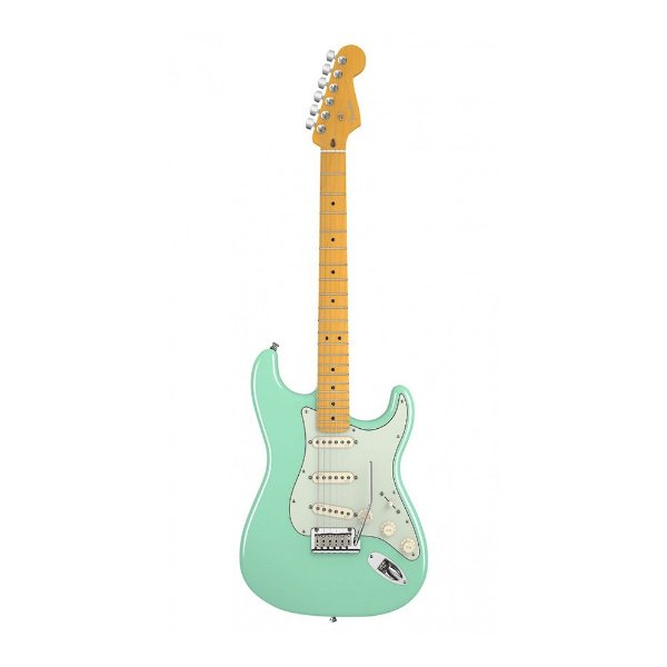 Guitarra Fender Am Deluxe V Neck Stratocaster SG
