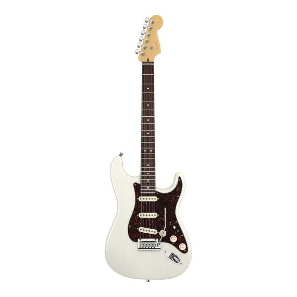 Guitarra Fender Am Deluxe Stratocaster Ash WB