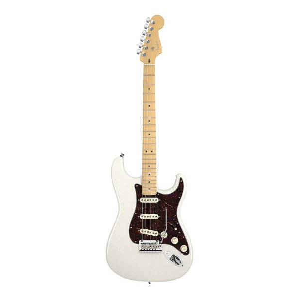 Guitarra Fender Am Deluxe Stratocaster Ash WB MN