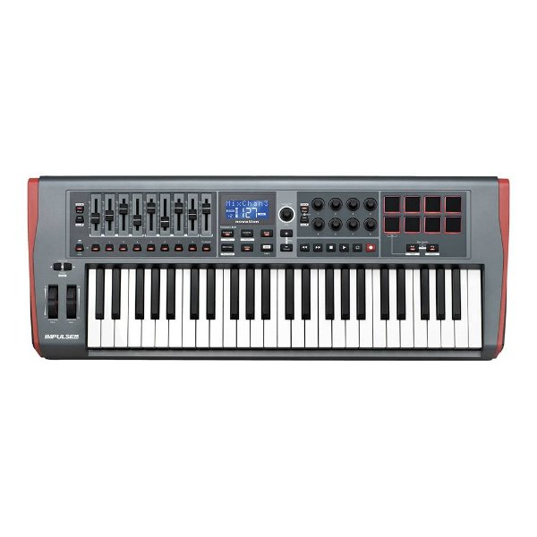 Controlador Novation Impulse 49