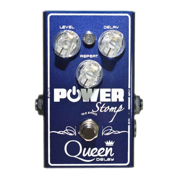 Pedal Power Stomp Queen Delay
