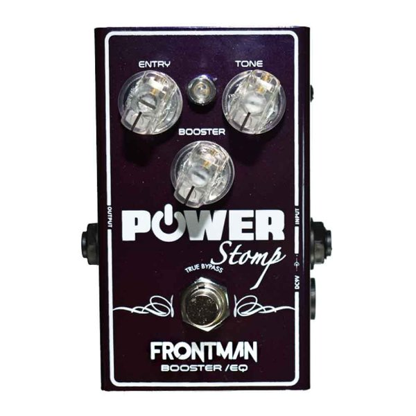 Pedal Guitarra Power Stomp Frontman Booster/EQ