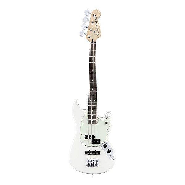 Contrabaixo Passivo 4C Fender Mustang Bass PJ RW OW