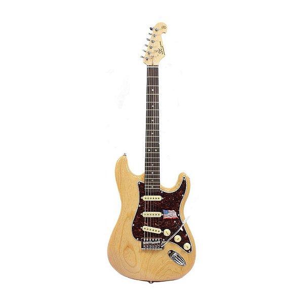 Guitarra Stratocaster SX SST Swamp Ash