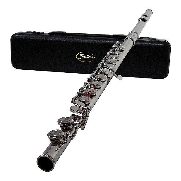 Flauta Transversal Shelter TJS 6456 N