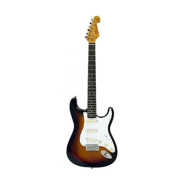 Guitarra SX Strato SST 62 SB