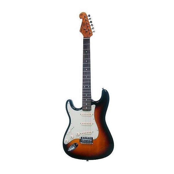 Guitarra SX Strato SST 62 SB LH