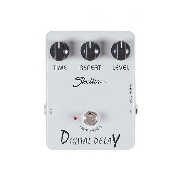 Pedal Guitarra Shelter Digital Delay