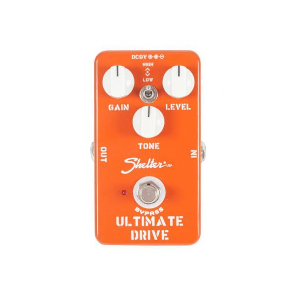 Pedal Guitarra Shelter Ultimate Drive