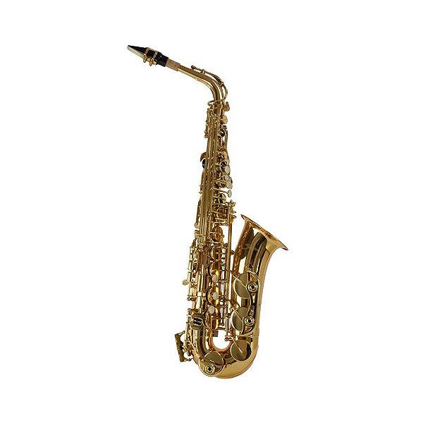 Saxofone Alto Laqueado Shelter SFT 6430L