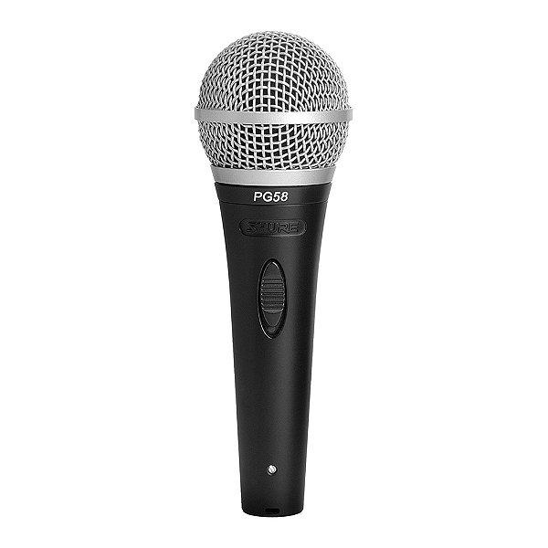 Microfone Shure PG 58 XLR