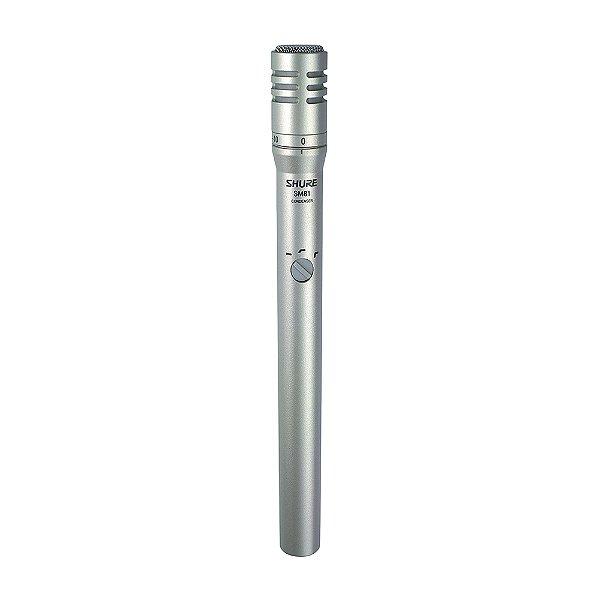 Microfone com fio Shure SM 81 LC