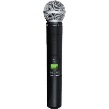 Microfone sem fio Mão Shure SLX 2 BETA 58 - J3