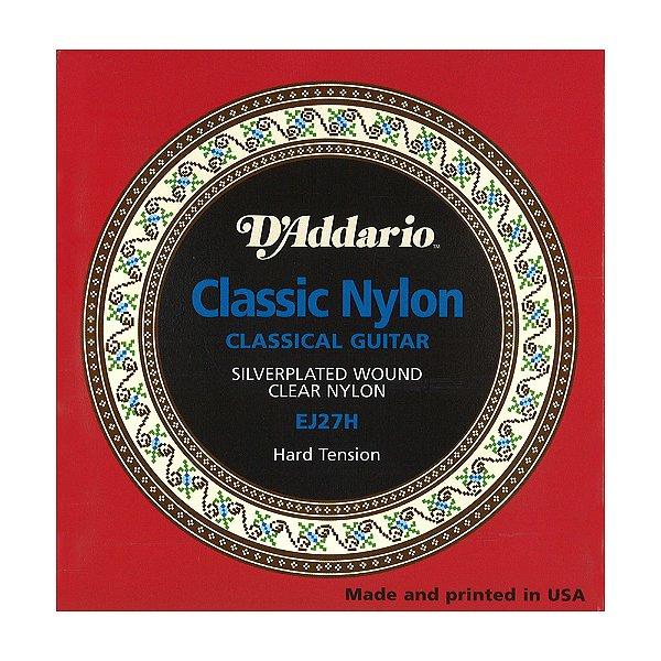 Encordoamento Violão Nylon D'Addario 0,29 EJ 27 H