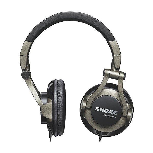 Fone Over-Ear Shure SRH 550 DJ