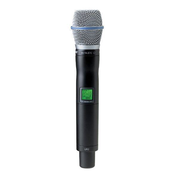 Microfone Transmissor Shure UR 2/Beta 87 C