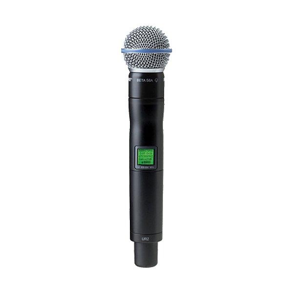 Microfone sem fio Shure UR 2 Beta 58