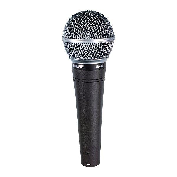 Microfone Mão Shure SM 48 LC