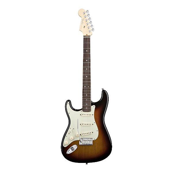 Guitarra Strato Canhoto Fender AM Deluxe RW com case