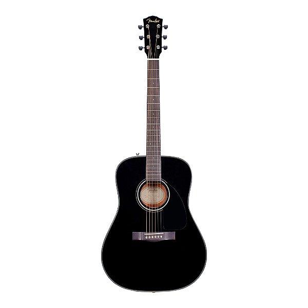 Kit Violão Acústico Fender DG 8S Value Pack BLK