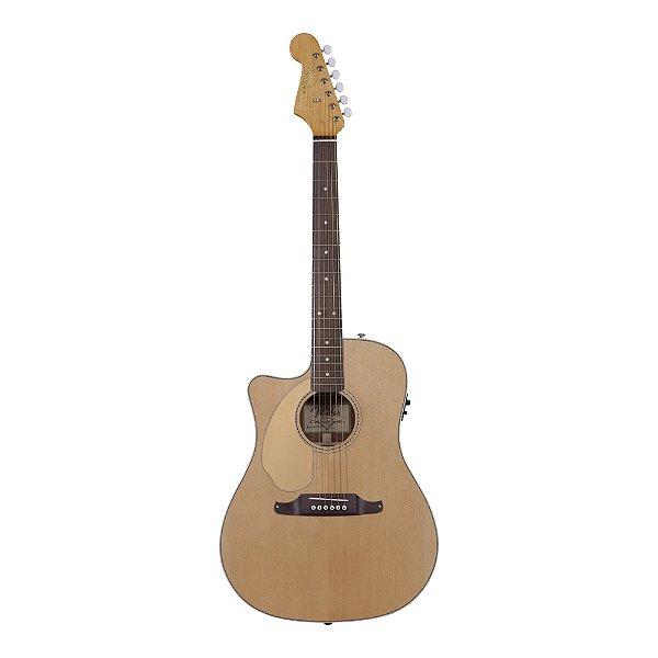 Violão Folk canhoto Fender Sonoran SCE LH