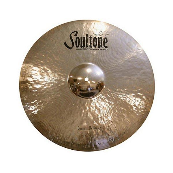 """Prato Efeito 17"""" Soultone Custom Brilliant Series SCBCH 17"""