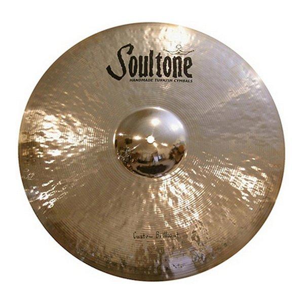 """Prato Efeito 19"""" Soultone Custom Brilliant Series SCBCH 19"""