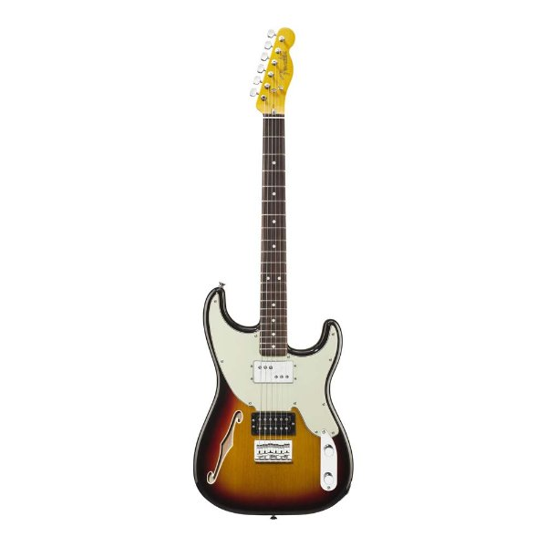 Guitarra Strato Fender Pawn Shop 72 Sunburst