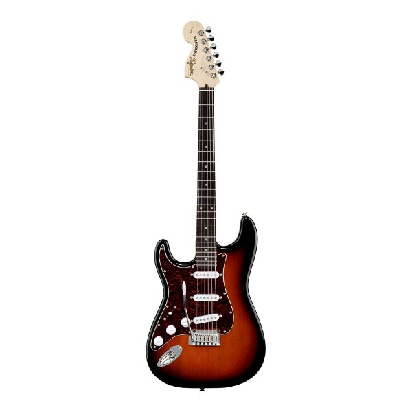 Guitarra Strato Canhoto Squier by Fender Standard AB