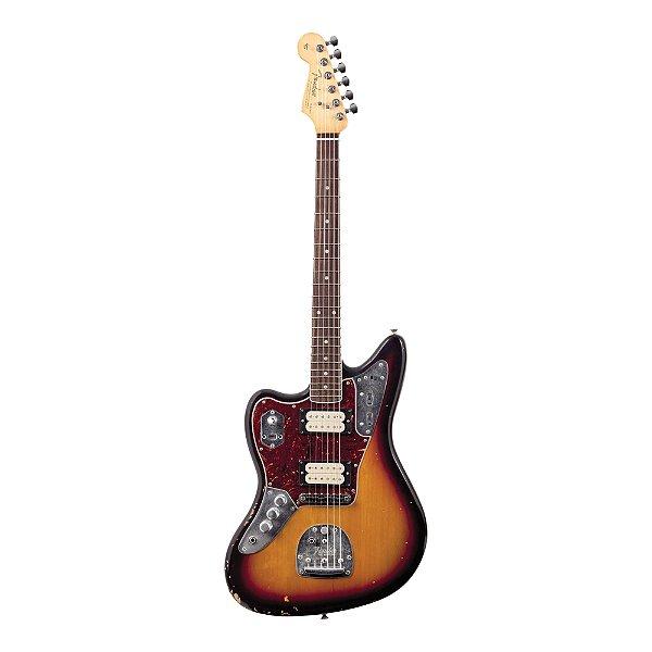 Guitarra Original Canhoto Fender Signature Kurt Cobain Jaguar SB