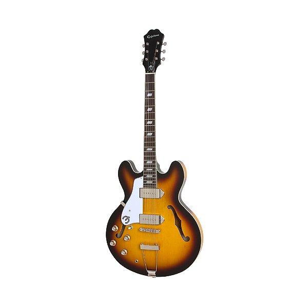 Guitarra Semi Acústica Canhoto Epiphone Casino VS