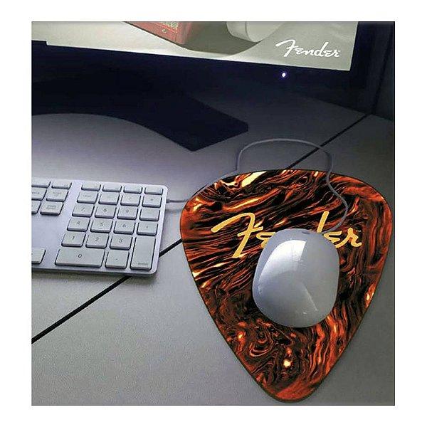 Mouse Pad Fender Palheta Sunburst