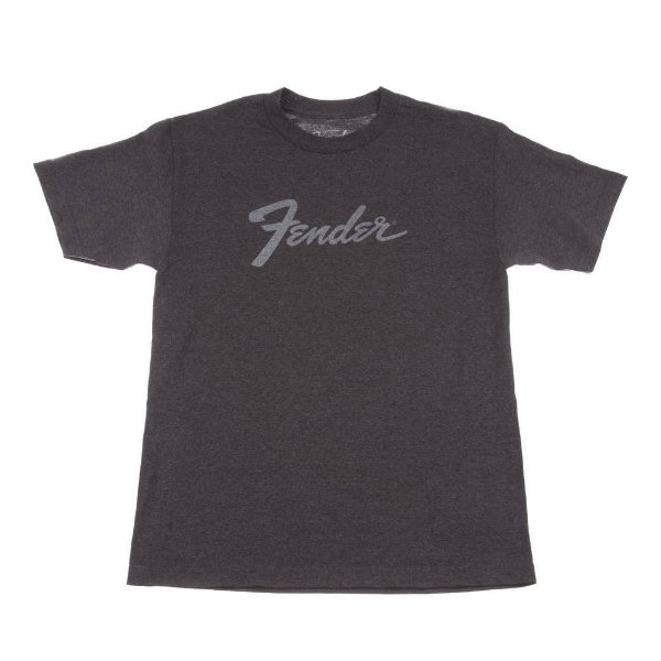 Camiseta Fender Amp Logo XXG - Cinza Chumbo