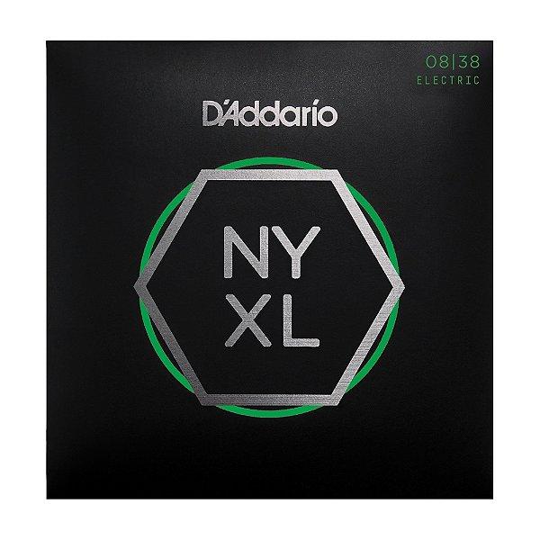 Encordoamento Guitarra D'Addario 0,08 NYXL 0838