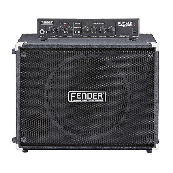 Cabeçote + Caixa Contrabaixo Fender Rumble 150W 1x12