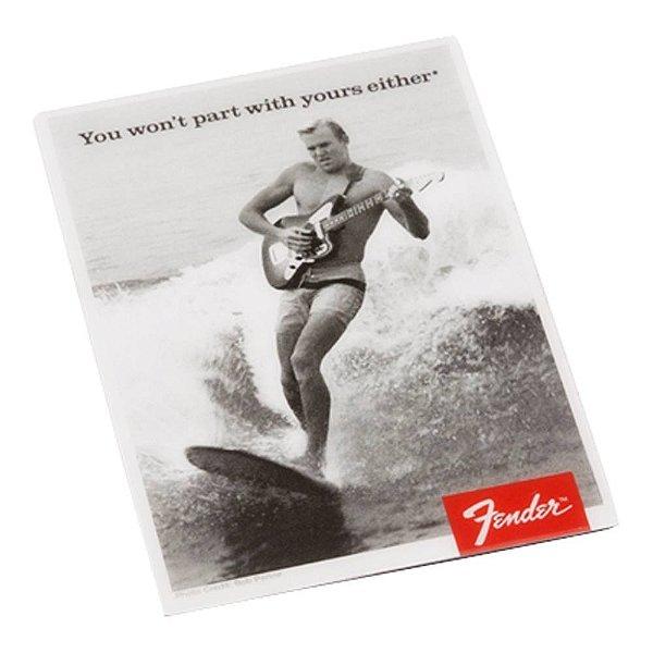 Imã Fender Surfista Clássico