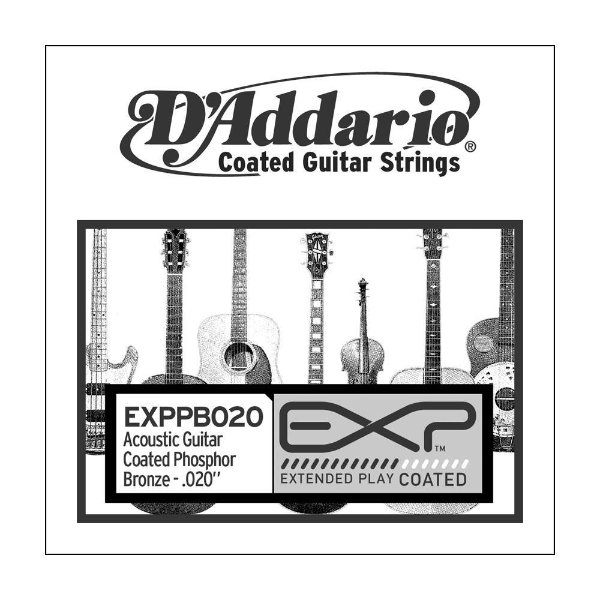Corda Avulsa Violão D'Addario 0,20 EXPPB 020