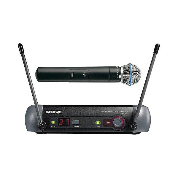 Sistema sem fio Mão Shure PGX 24 Beta 58